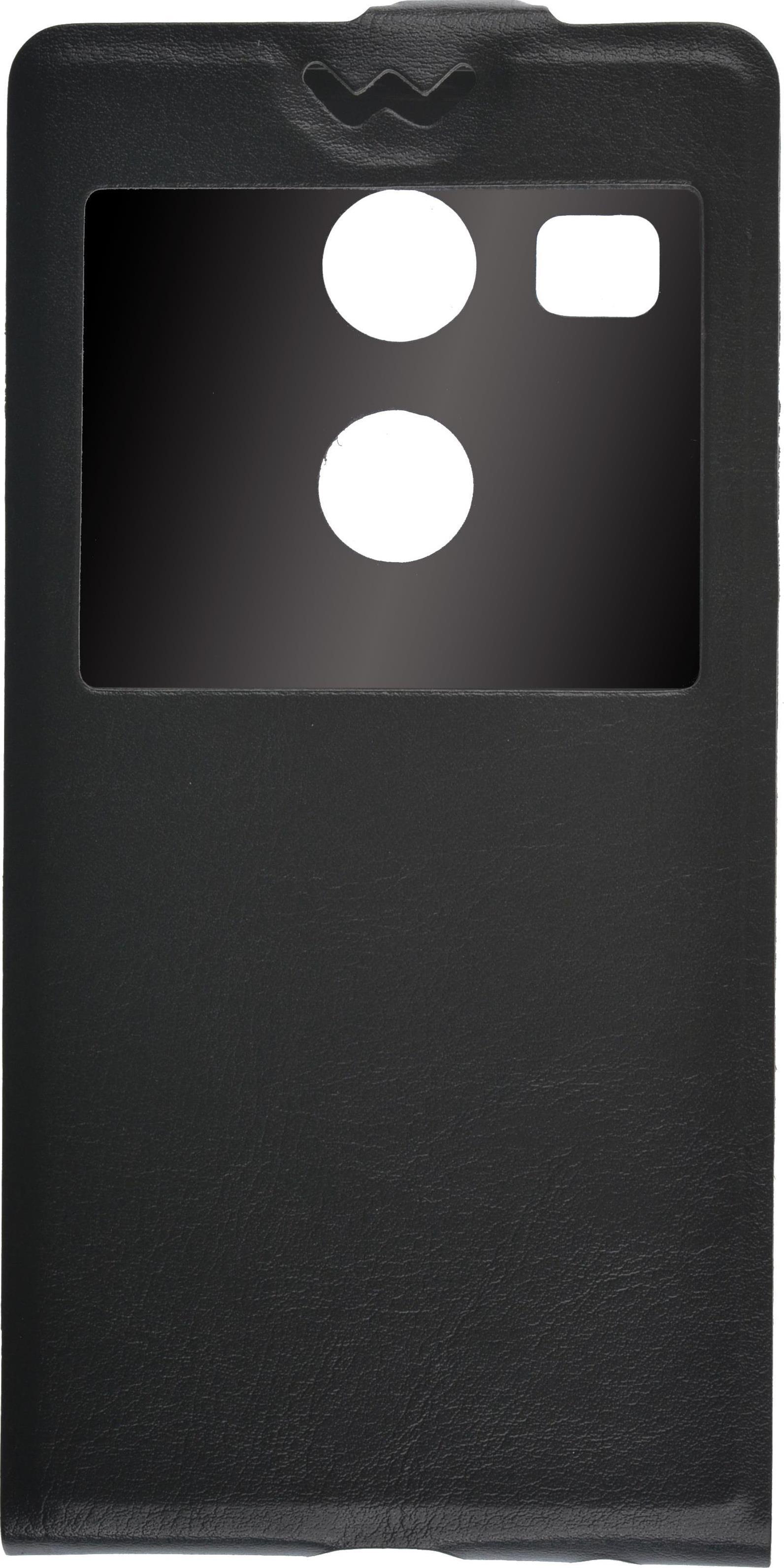 купить Чехол для сотового телефона skinBOX Flip slim, 4630042525214, черный по цене 190 рублей