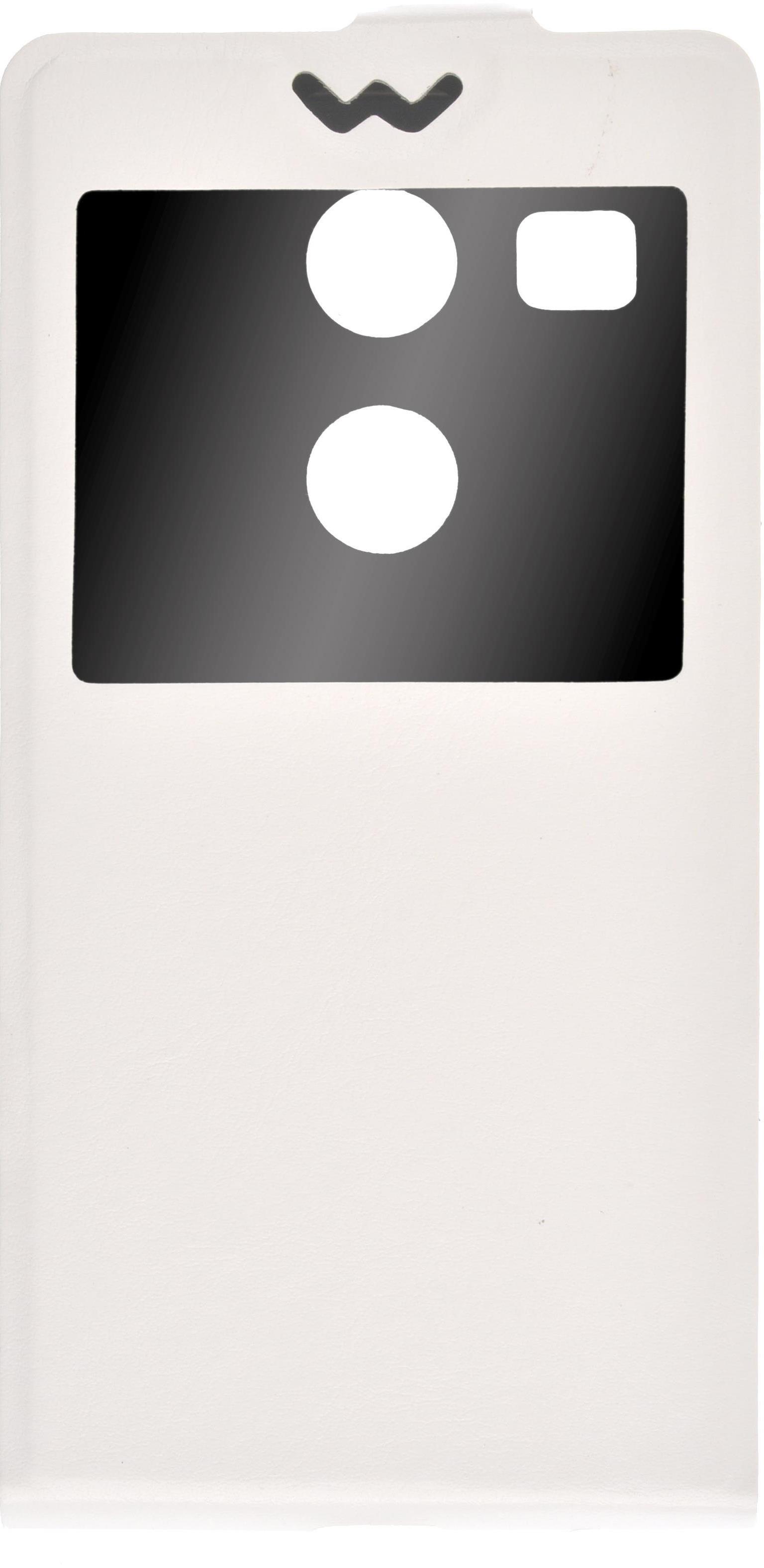Чехол для сотового телефона skinBOX Flip slim, 4630042525238, белый skinbox защитное стекло для lg nexus 5x глянцевое