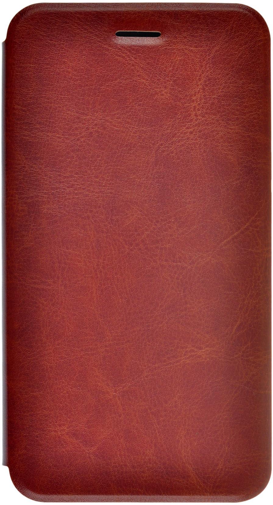 Чехол для сотового телефона skinBOX Lux, 4630042525481, коричневый
