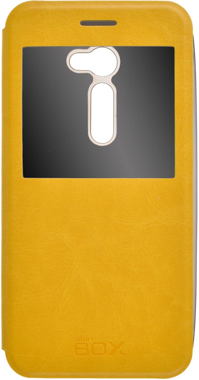 Чехол для сотового телефона skinBOX Lux AW, 4630042525498, желтый roar aw чехол для asus zenfone 4 a400cg white