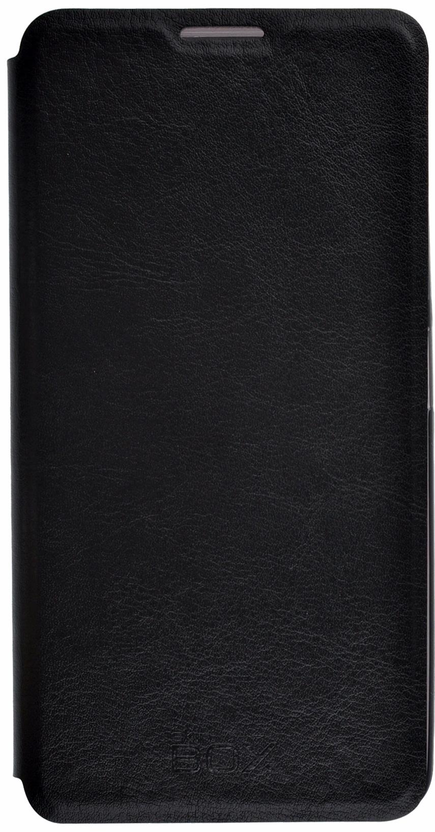 Чехол для сотового телефона skinBOX Lux, 4630042525528, черный все цены