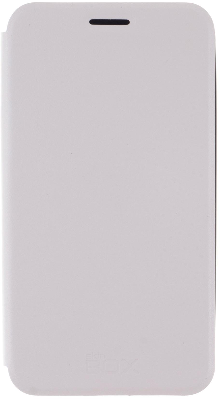 цена на Чехол для сотового телефона skinBOX Lux, 4630042525535, белый