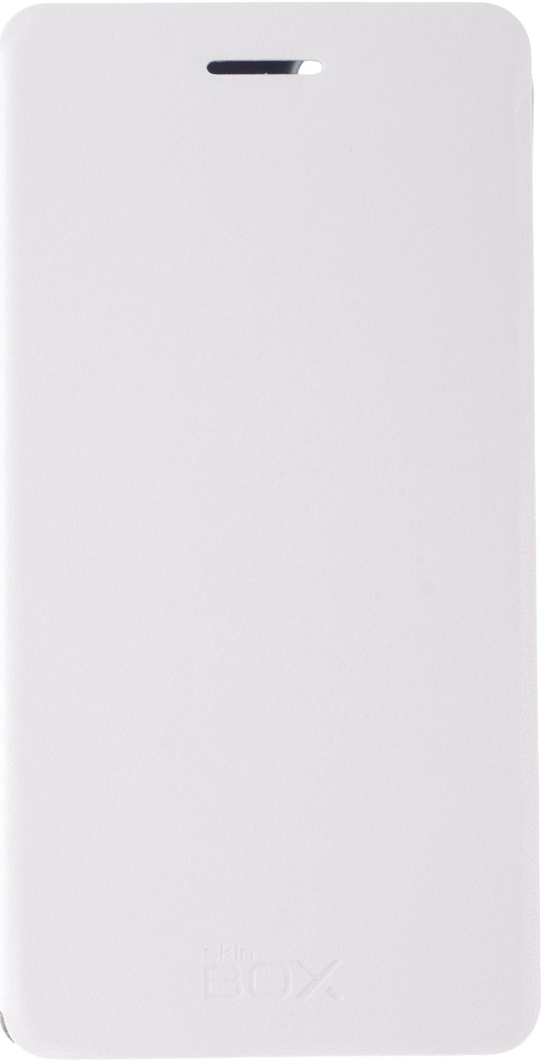 цена на Чехол для сотового телефона skinBOX Lux, 4630042525542, белый