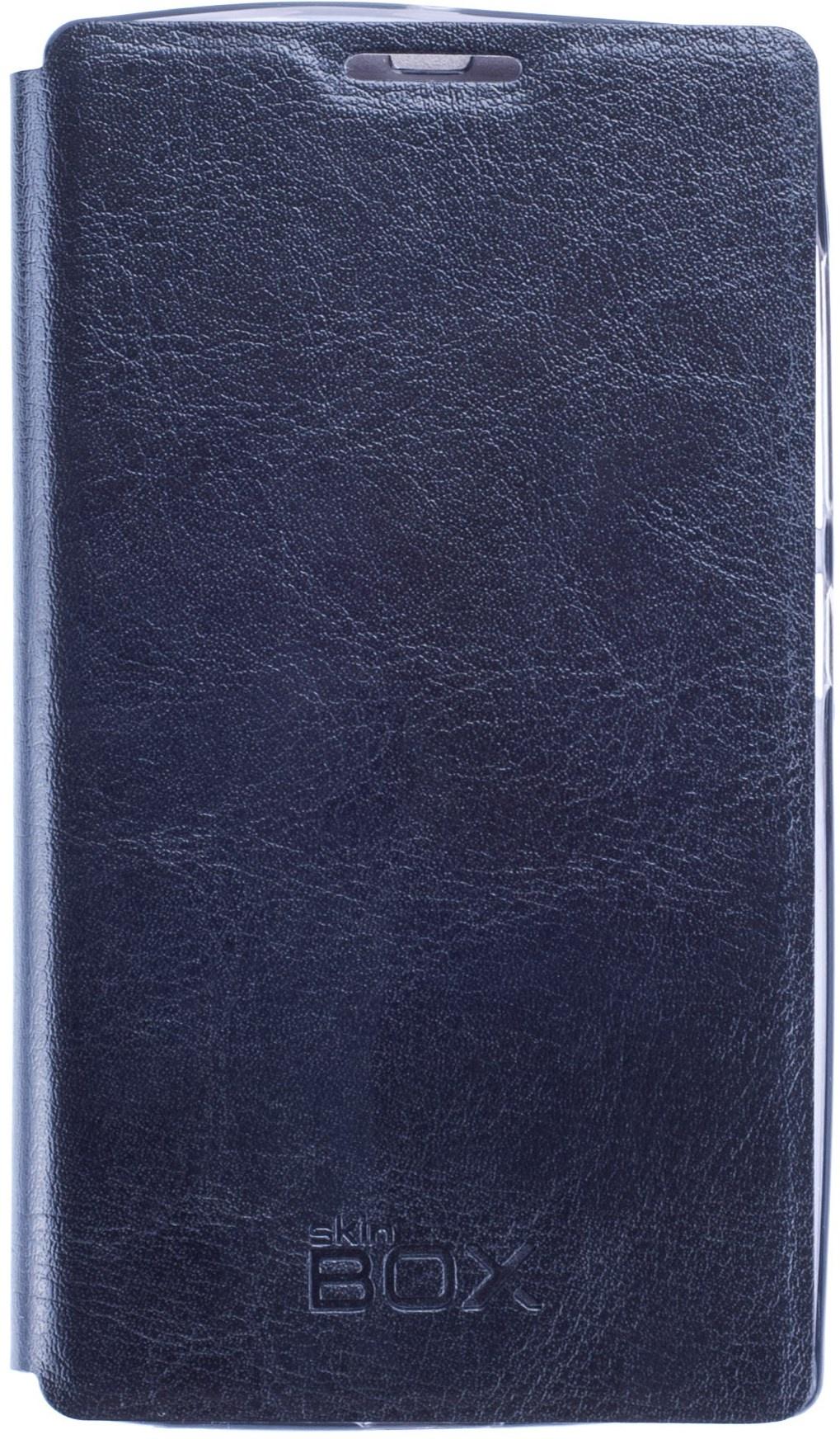 Чехол для сотового телефона skinBOX Lux, 4630042525559, черный цена