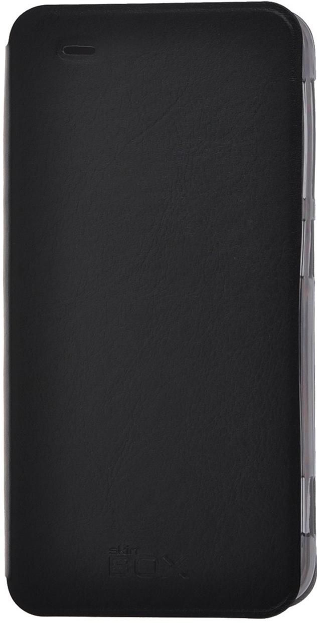Чехол для сотового телефона skinBOX Lux, 4630042525573, черный все цены