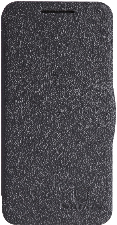 Чехол для сотового телефона Nillkin Fresh, 4630042525610, черный чехол для смартфона lenovo a516 nillkin fresh series leather case черный