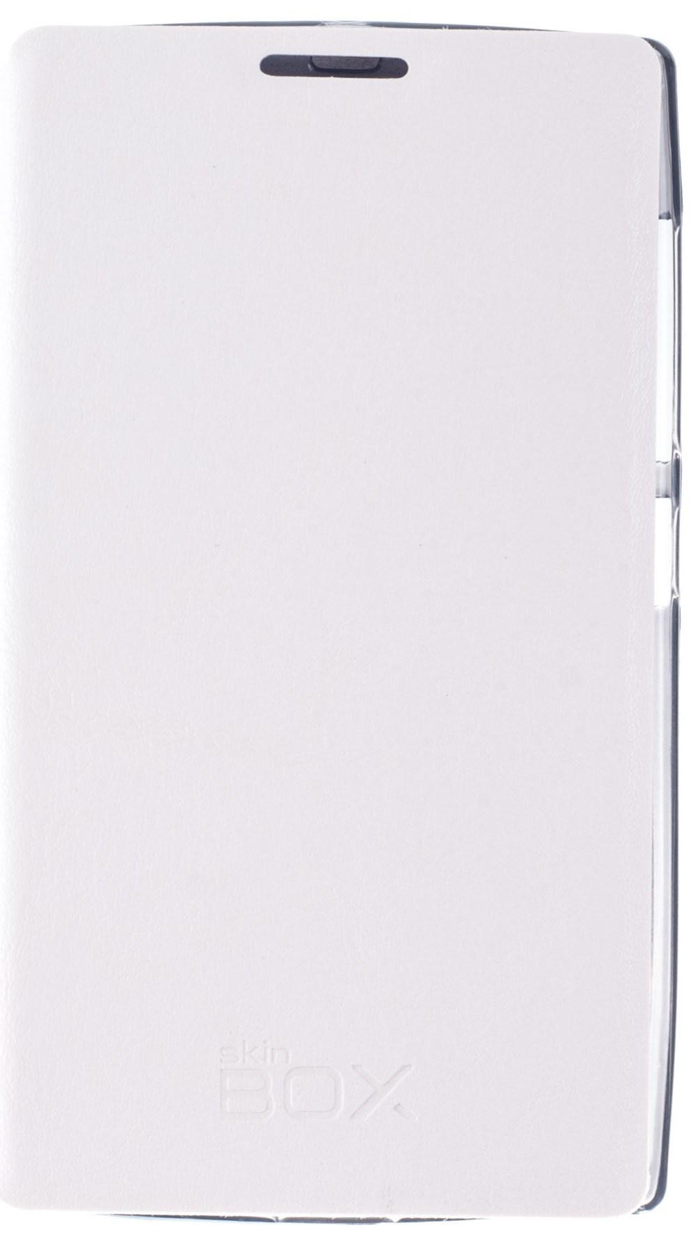 Чехол для сотового телефона skinBOX Lux, 4630042526761, белый чехол книжка для microsoft lumia 532 с магнитной застежкой золотой armor m