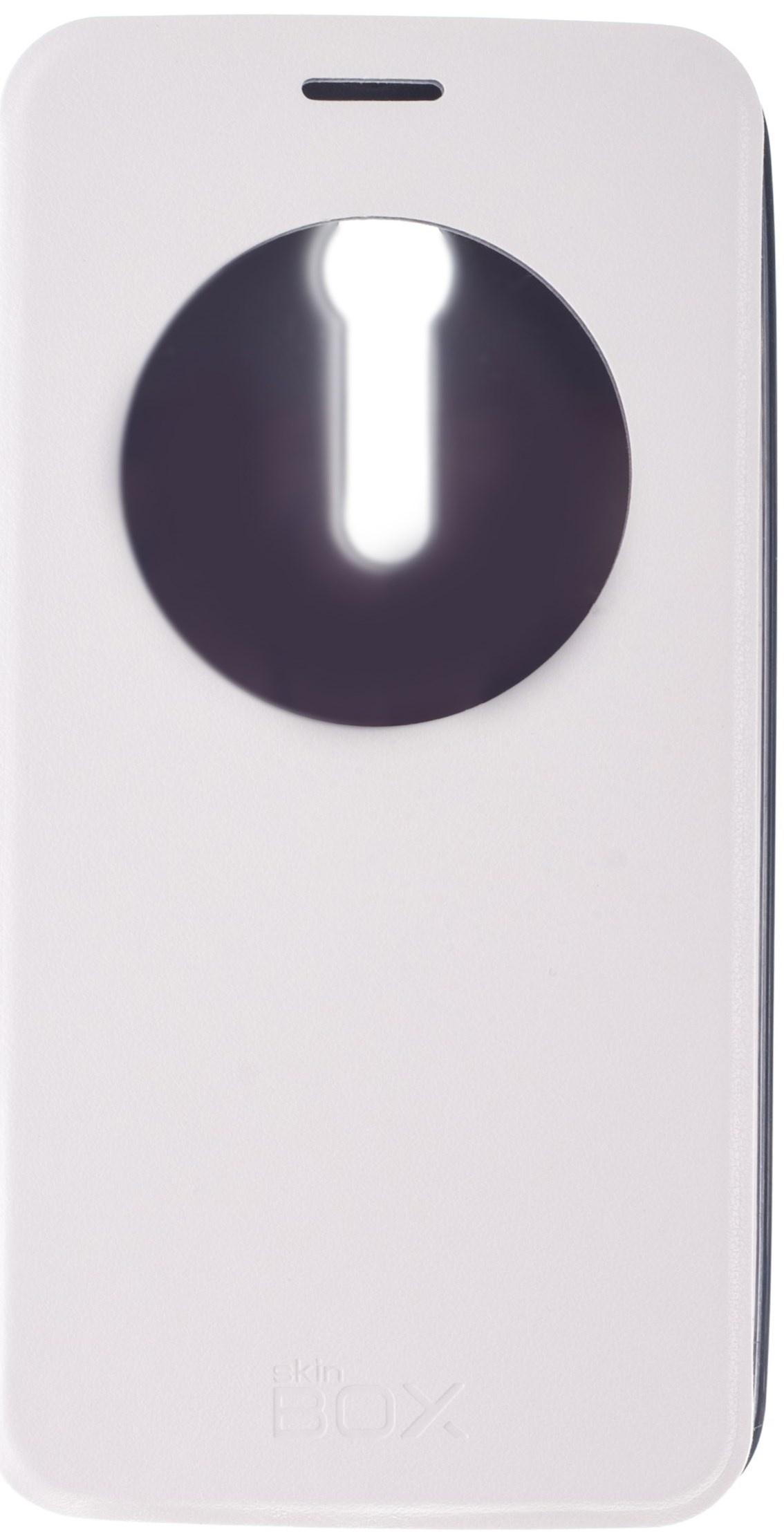 Чехол для сотового телефона skinBOX Lux AW, 4630042526891, белый roar aw чехол для asus zenfone 4 a400cg white