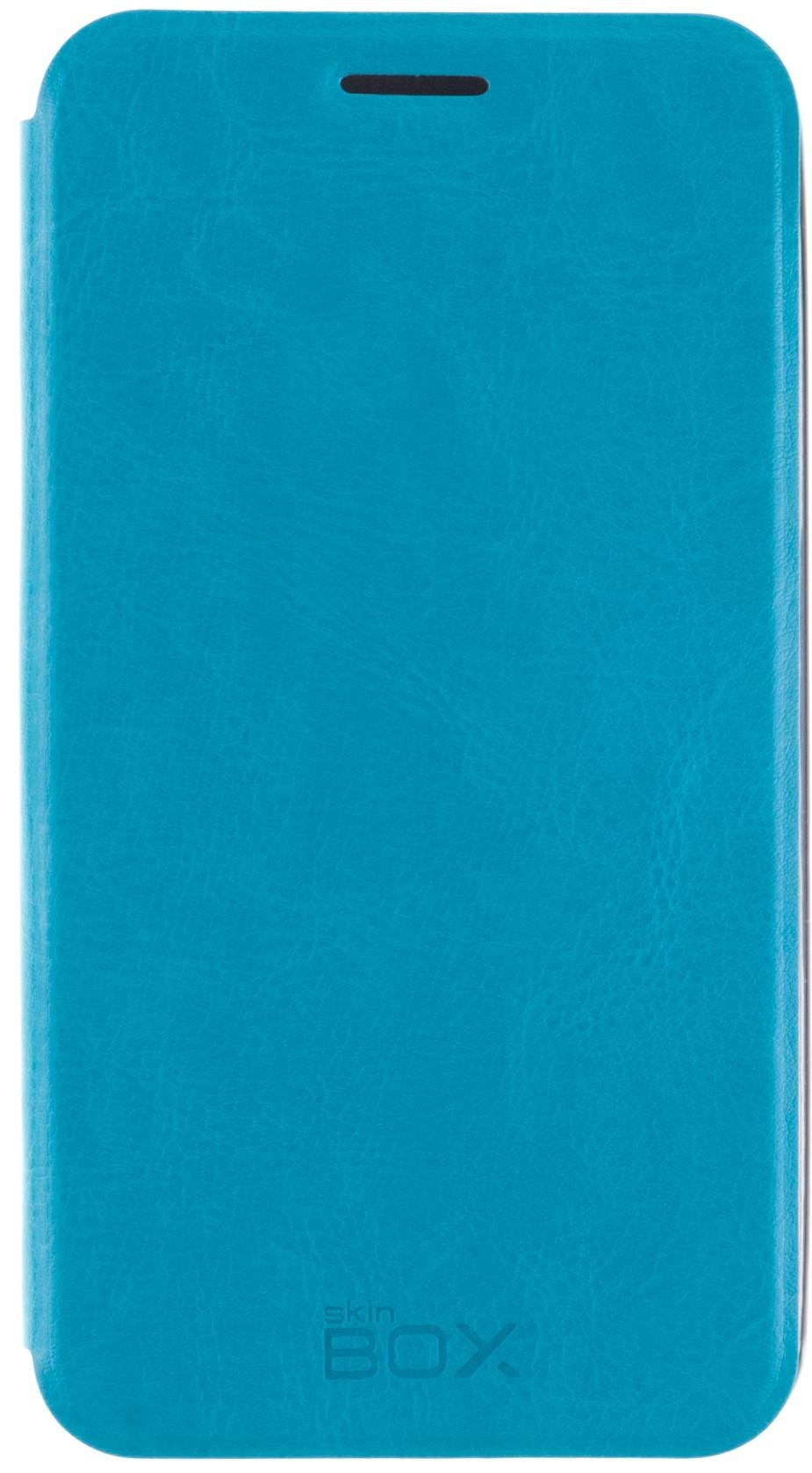 Чехол для сотового телефона skinBOX Lux, 4630042526983, синий