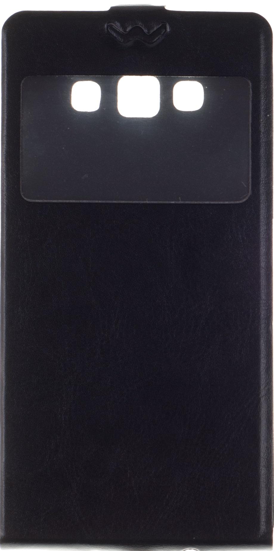 Чехол для сотового телефона skinBOX Flip slim AW, 4630042527065, черный чехол для сотового телефона skinbox flip slim 4660041407587 черный