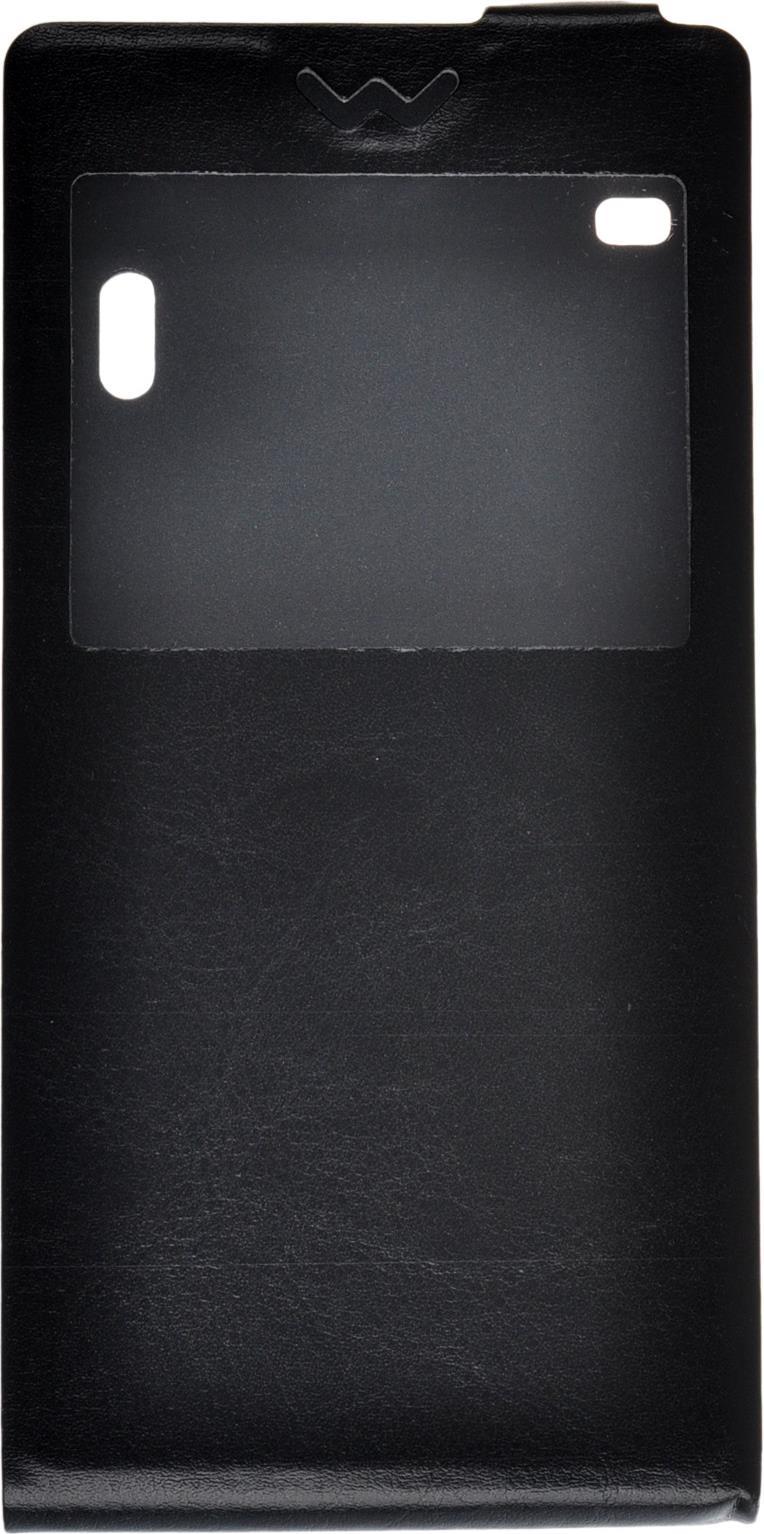 Чехол для сотового телефона skinBOX Flip slim AW, 4630042527157, черный чехол для сотового телефона skinbox flip slim 4660041407587 черный