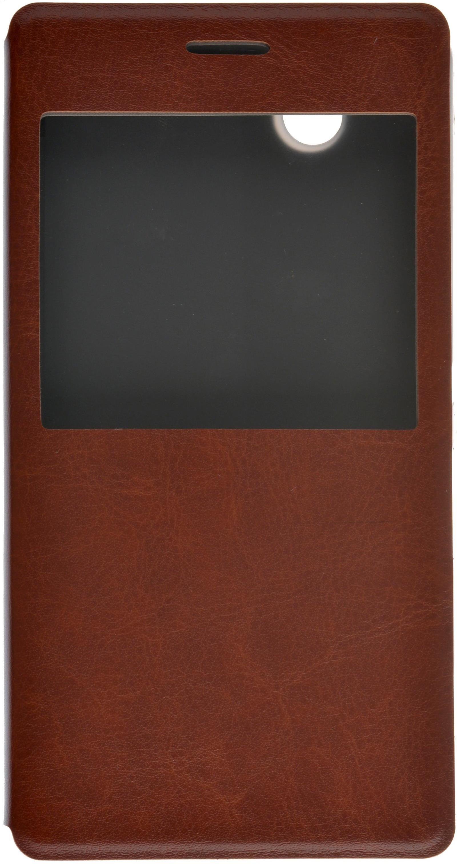 цена на Чехол для сотового телефона skinBOX Lux AW, 4630042527232, коричневый