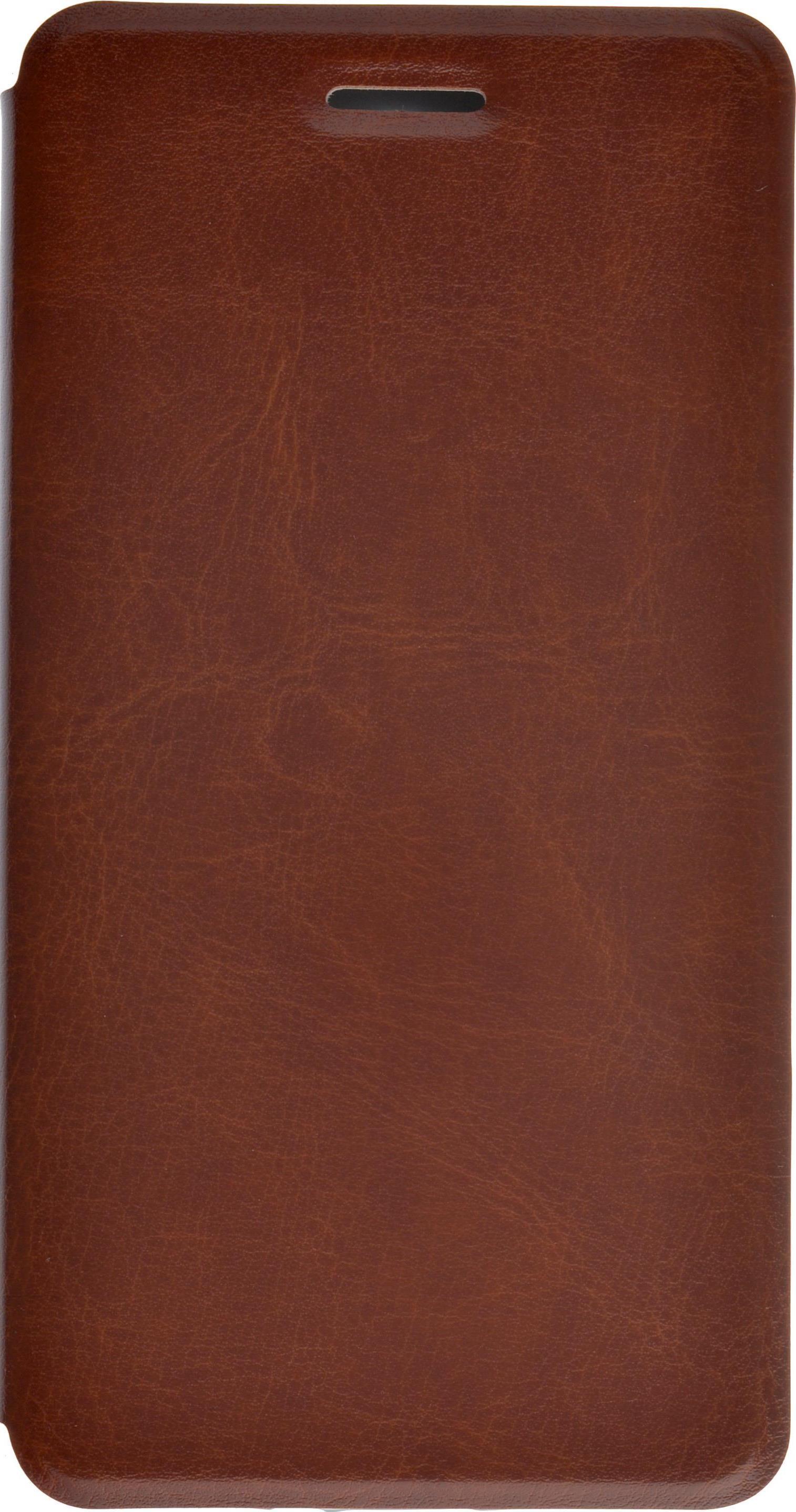 Чехол для сотового телефона skinBOX Lux, 4630042527317, коричневый