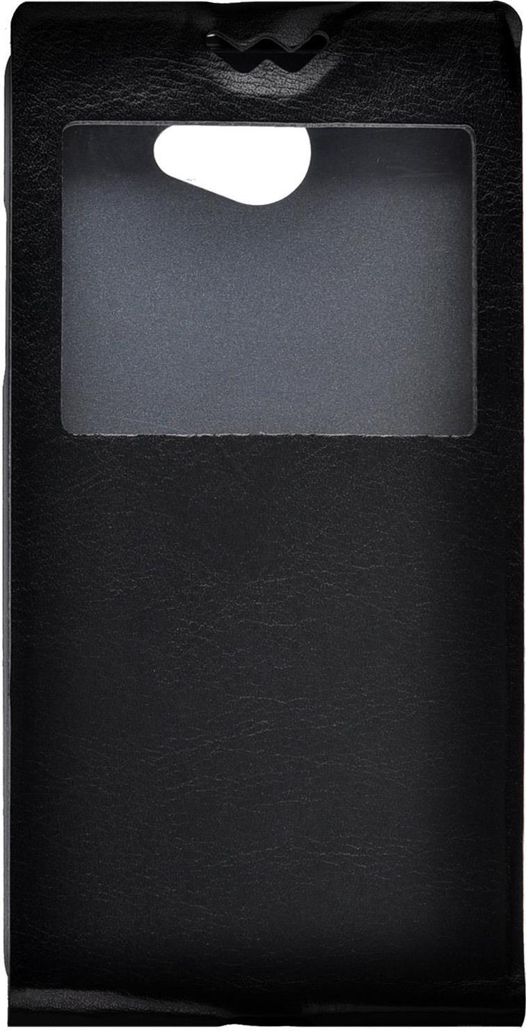 Чехол для сотового телефона skinBOX Flip slim AW, 4630042527409, черный skinbox flip slim чехол для alcatel 4024d pixi black