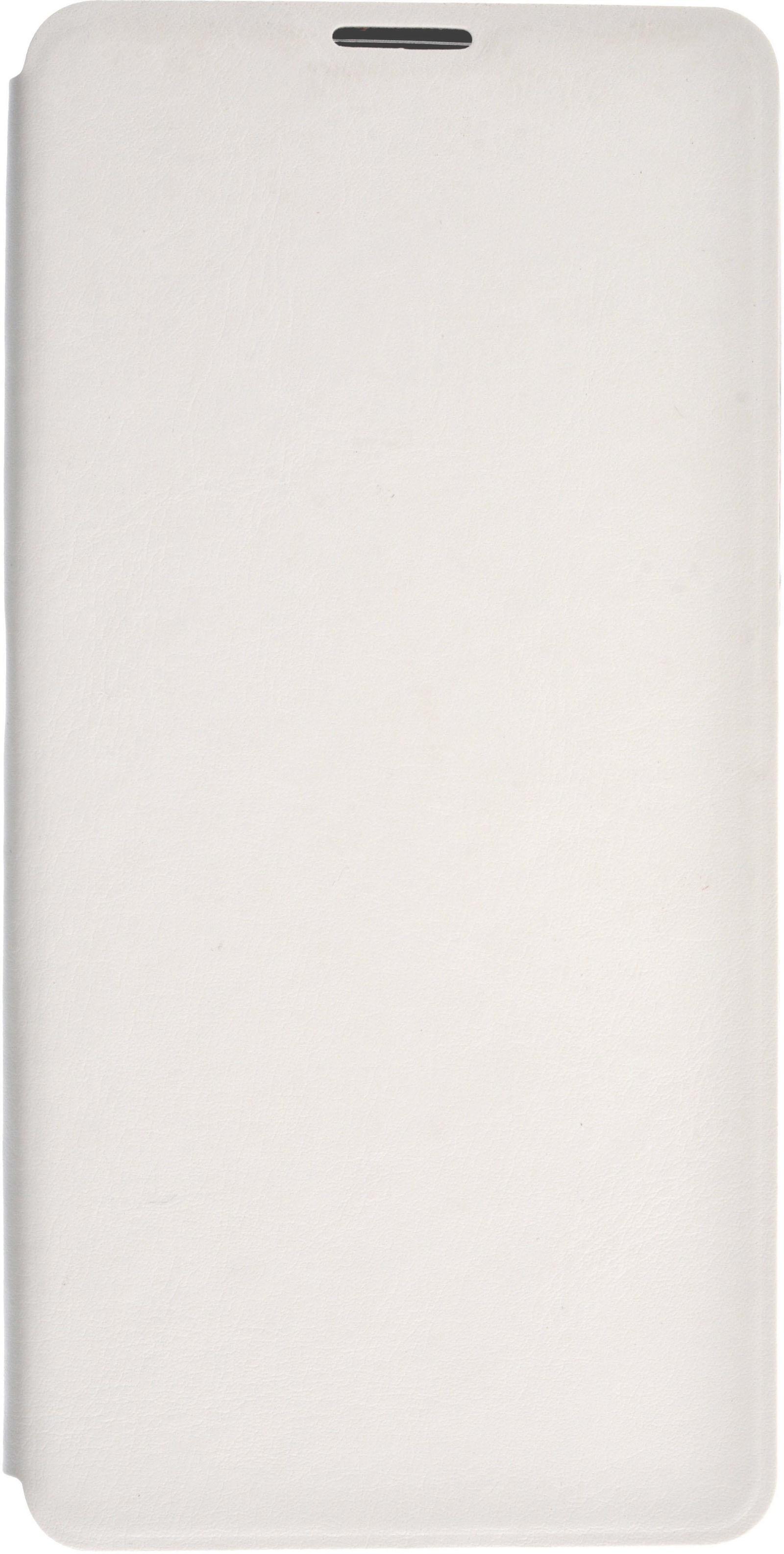 Чехол для сотового телефона skinBOX Lux, 4630042527416, белый чехол книжка для microsoft lumia 532 с магнитной застежкой золотой armor m