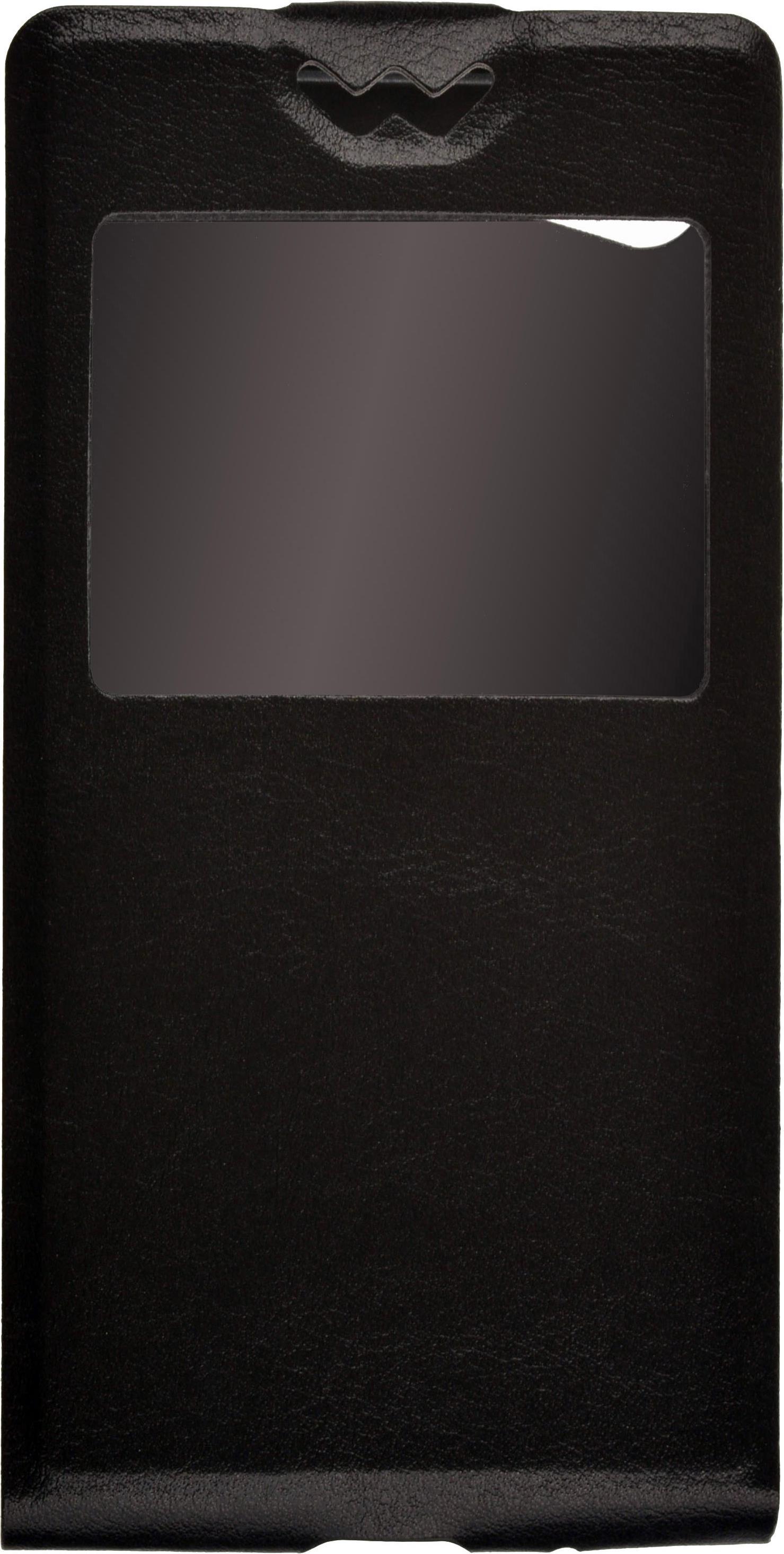 все цены на Чехол для сотового телефона skinBOX Flip slim AW, 4630042527560, черный онлайн