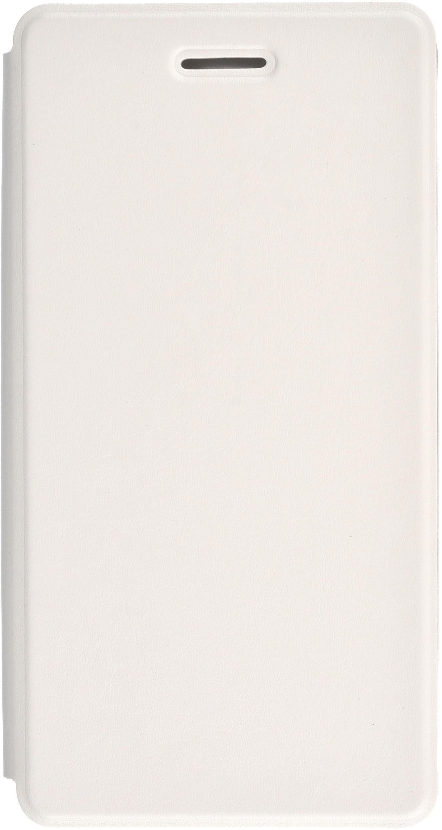 Чехол для сотового телефона skinBOX Lux, 4630042527669, белый чехол книжка для microsoft lumia 532 с магнитной застежкой золотой armor m