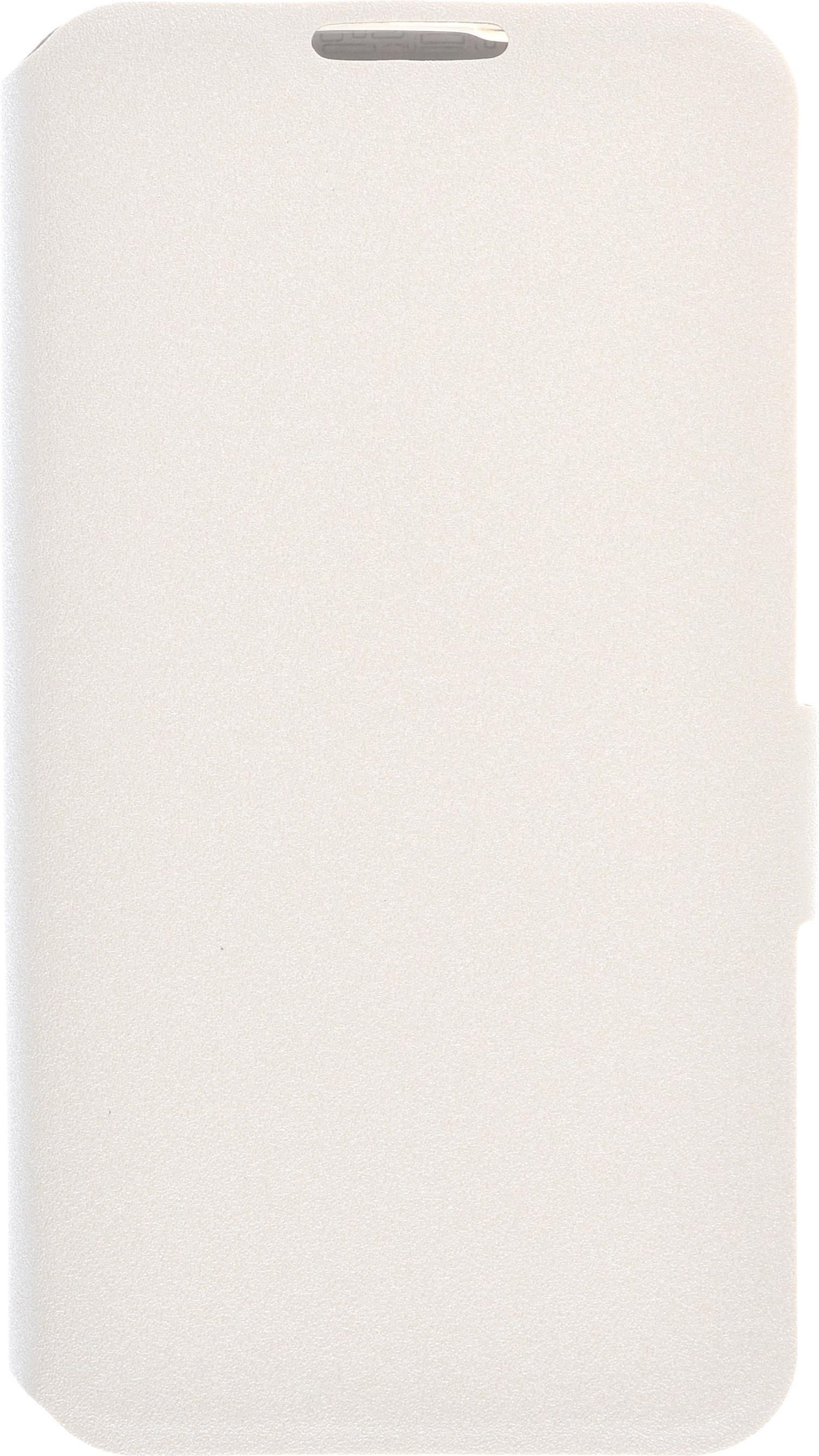 Чехол для сотового телефона PRIME Book, 4630042527980, белый lg cfr 100c agrawh чехол книжка полиуретан белый