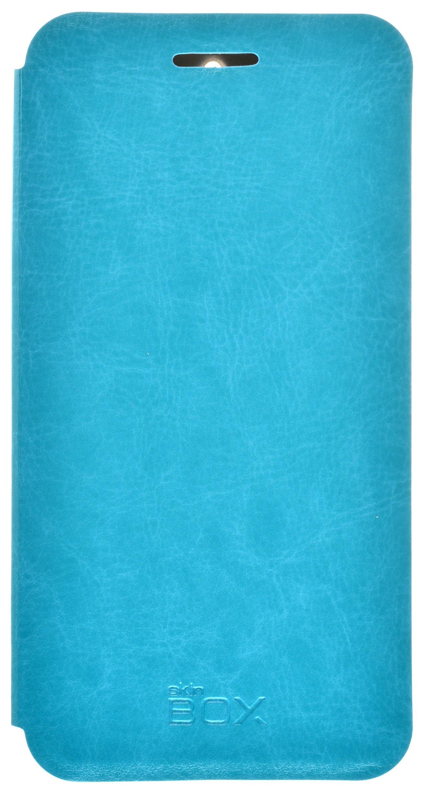 Чехол для сотового телефона skinBOX Lux, 4630042528116, синий