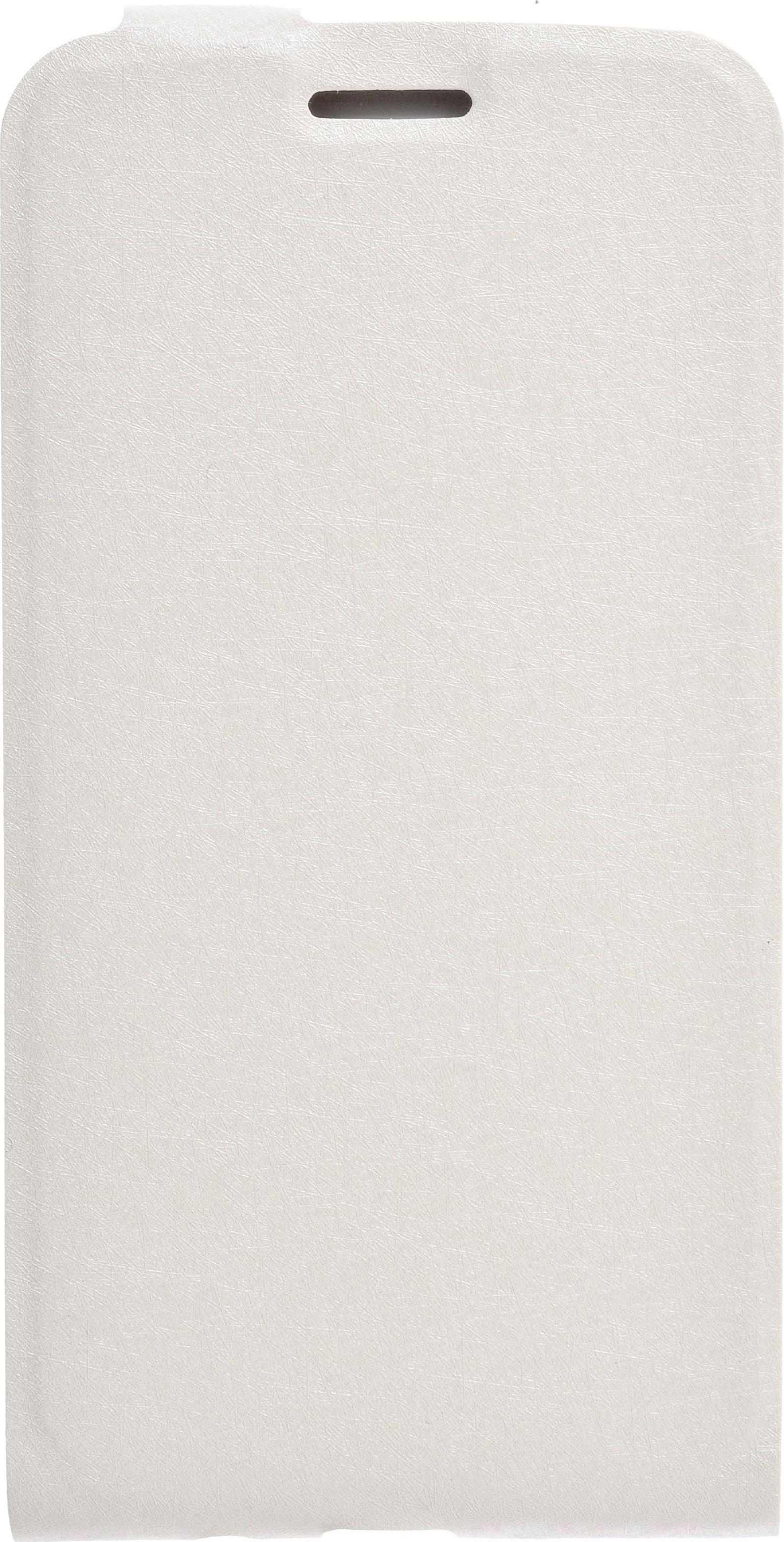 Чехол для сотового телефона skinBOX Flip slim, 4630042528154, белый skinbox защитное стекло для lg nexus 5x глянцевое