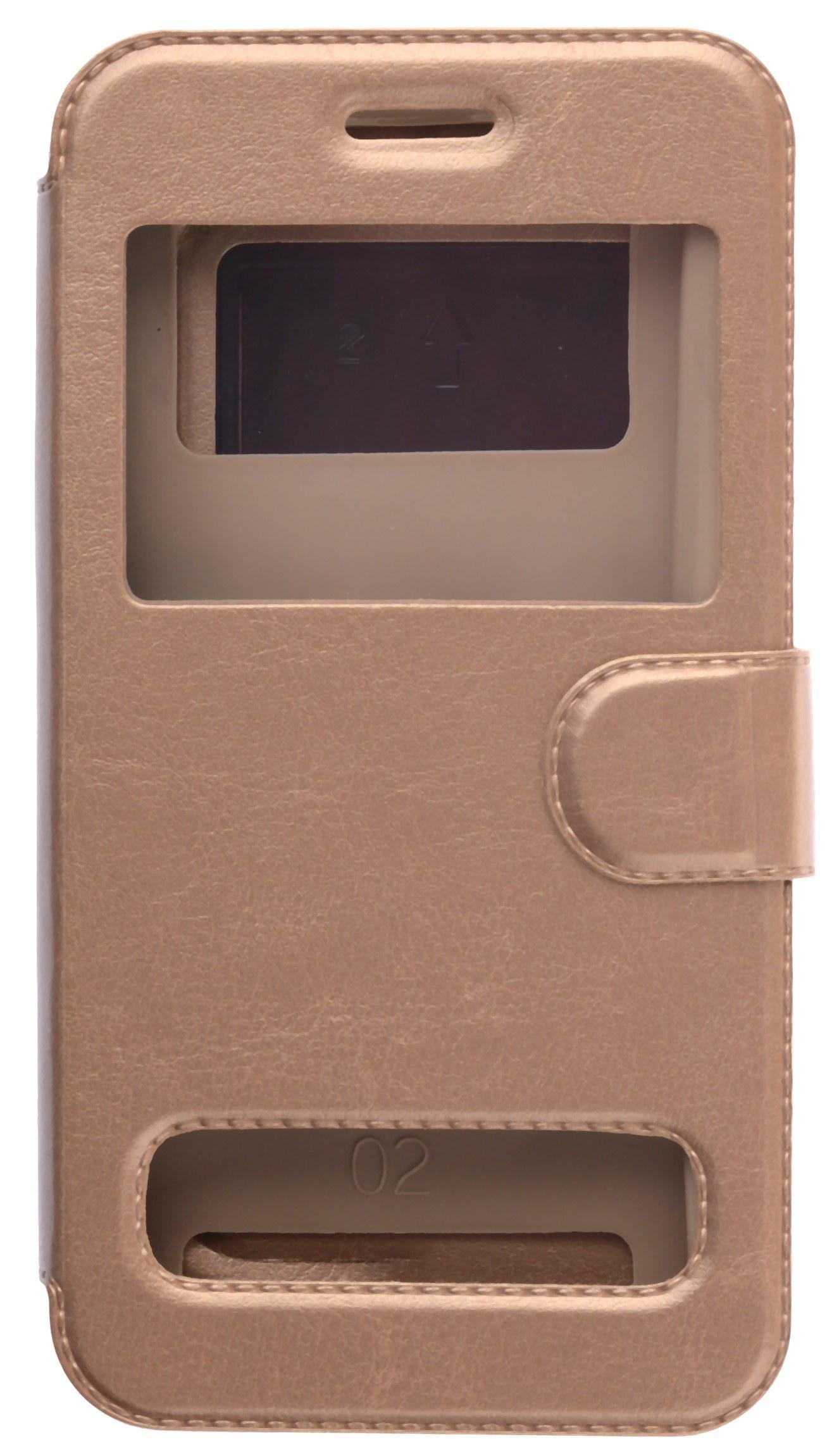цена на Чехол для сотового телефона skinBOX Silicone Sticker 5, 4630042529571, золотой