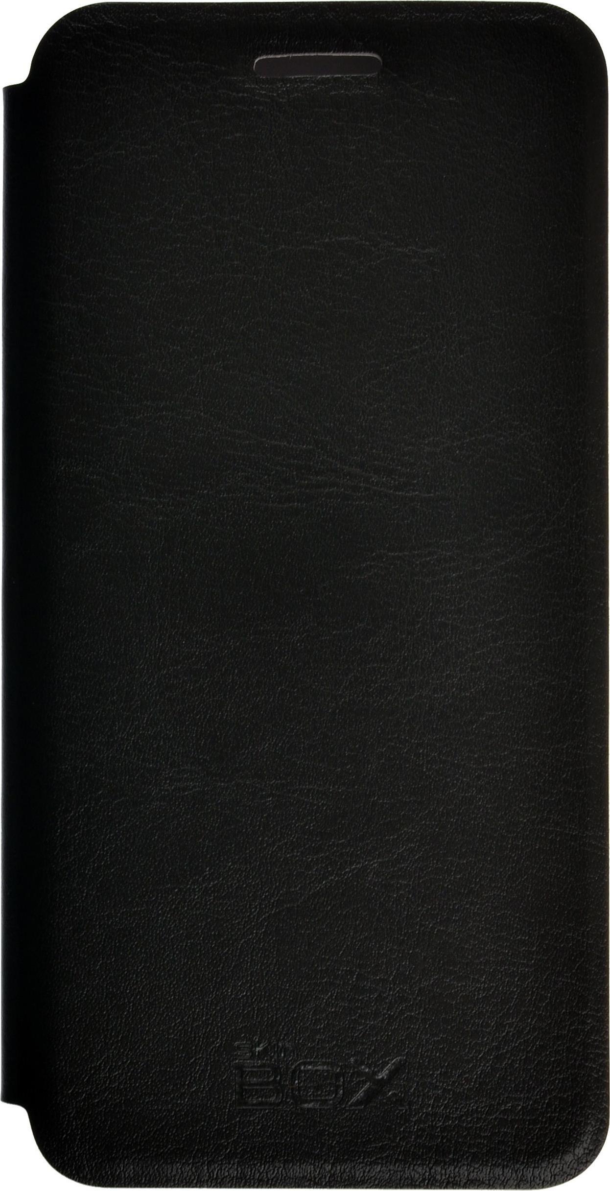 Чехол для сотового телефона skinBOX Lux, 4660041407174, черный chanhowgp lenovo a plus