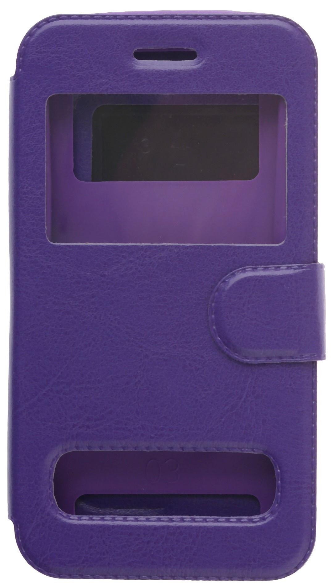 цена на Чехол для сотового телефона skinBOX Silicone Sticker 5, 4660041408485, фиолетовый