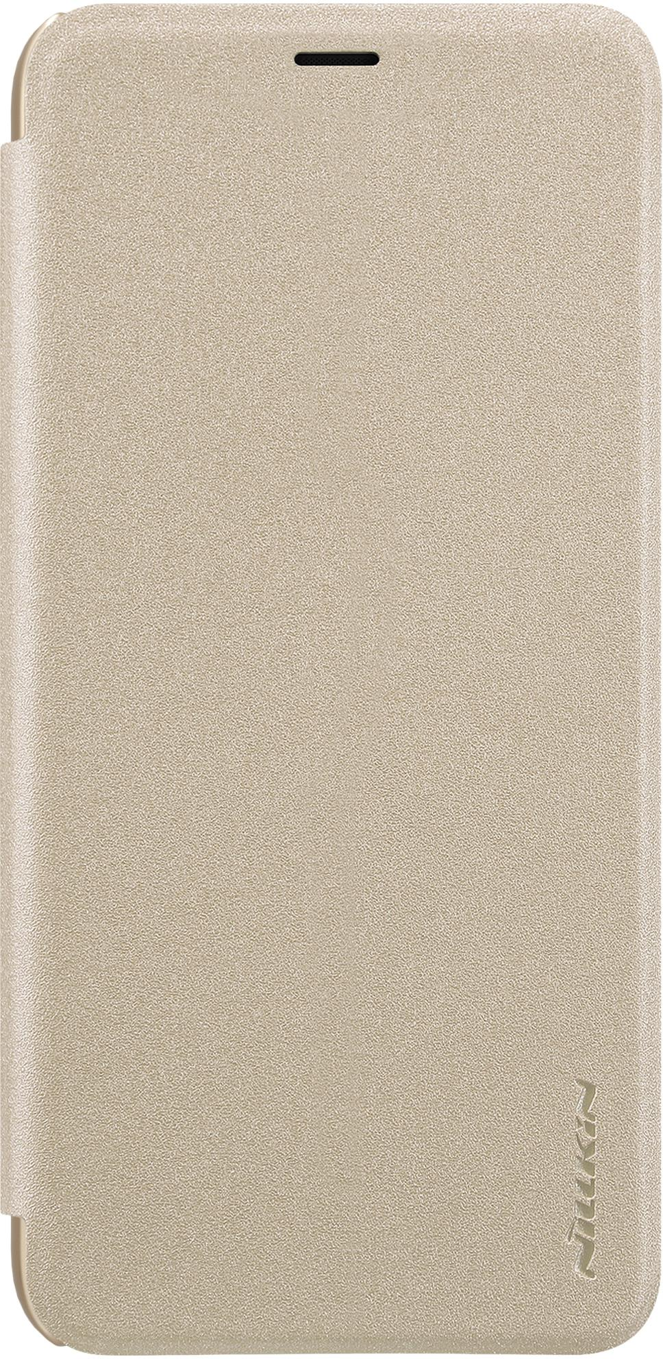 Чехол для сотового телефона Nillkin Sparkle, 6902048159013, золотой чехол для сотового телефона nillkin sparkle 6902048161108 золотой