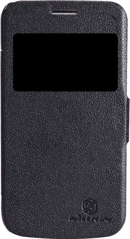 Чехол для сотового телефона Nillkin Fresh, 6956473270751, черный чехол для смартфона lenovo a516 nillkin fresh series leather case черный