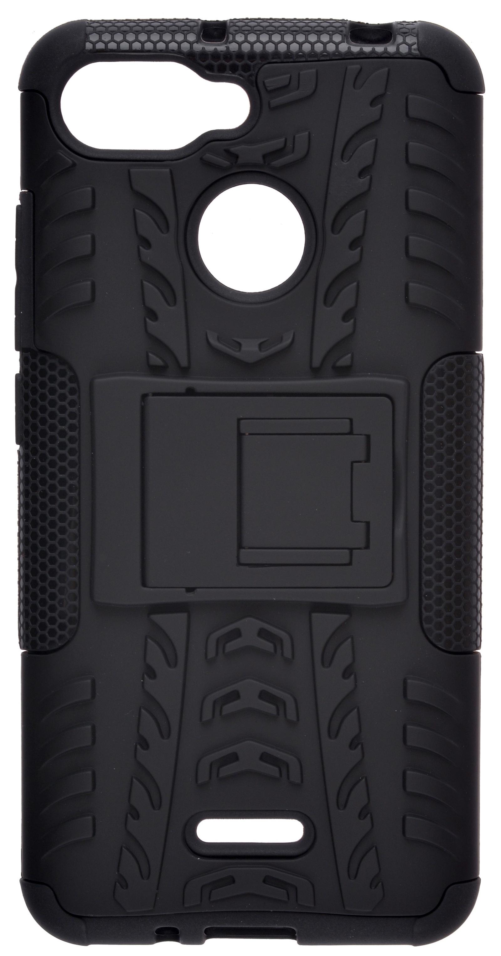 Чехол для сотового телефона skinBOX Defender, 4630042520806, черный все цены