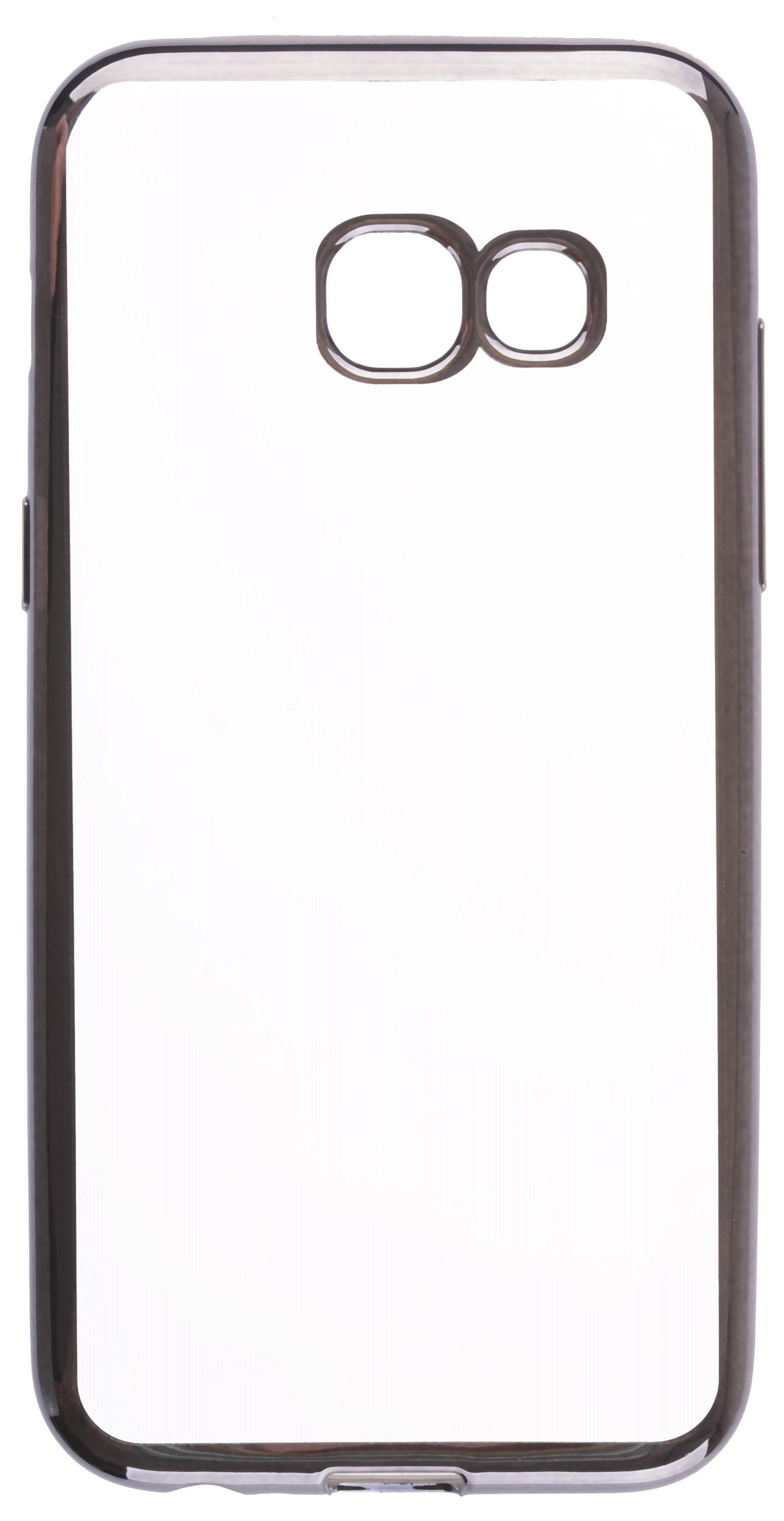 все цены на Чехол для сотового телефона skinBOX Silicone chrome border, 4630042524545 онлайн