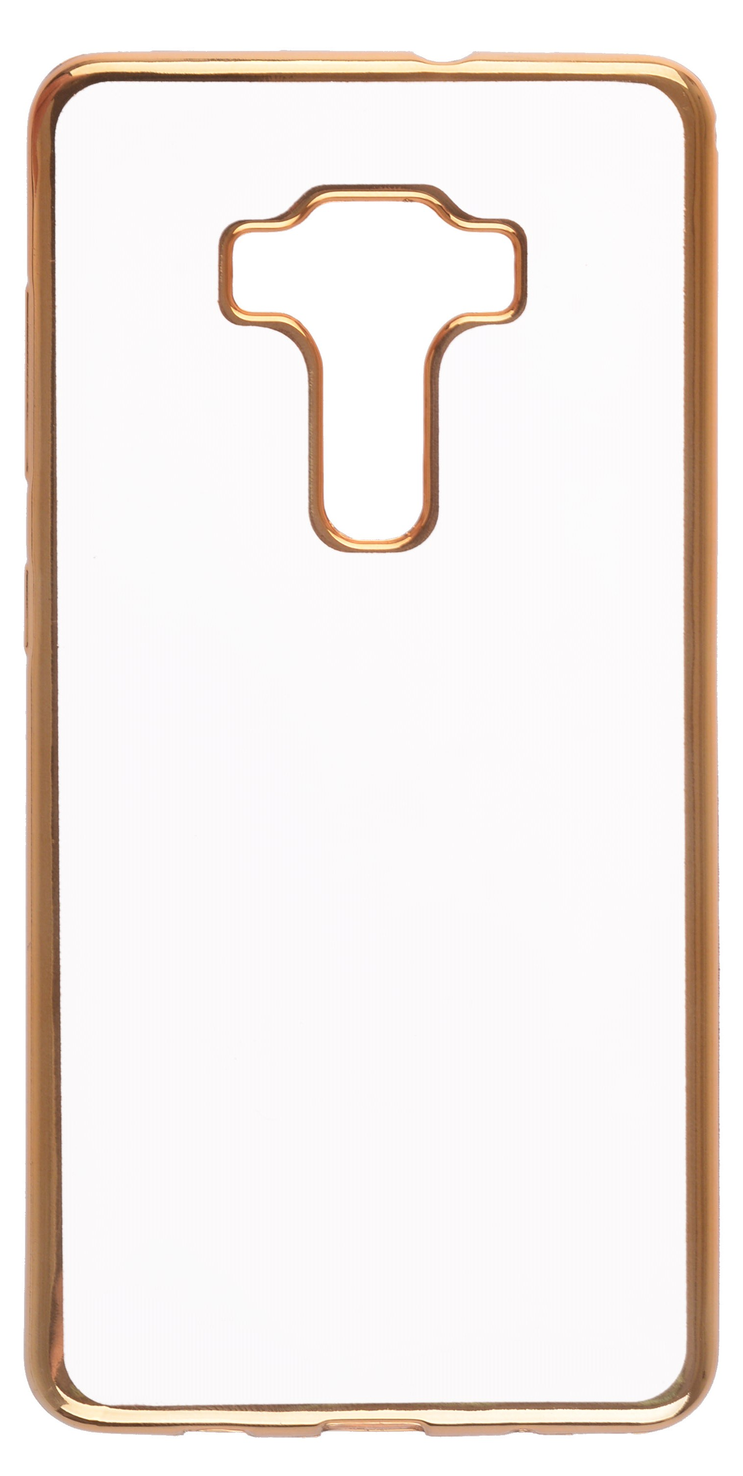 все цены на Чехол для сотового телефона skinBOX Silicone chrome border, 4630042524682, золотой онлайн