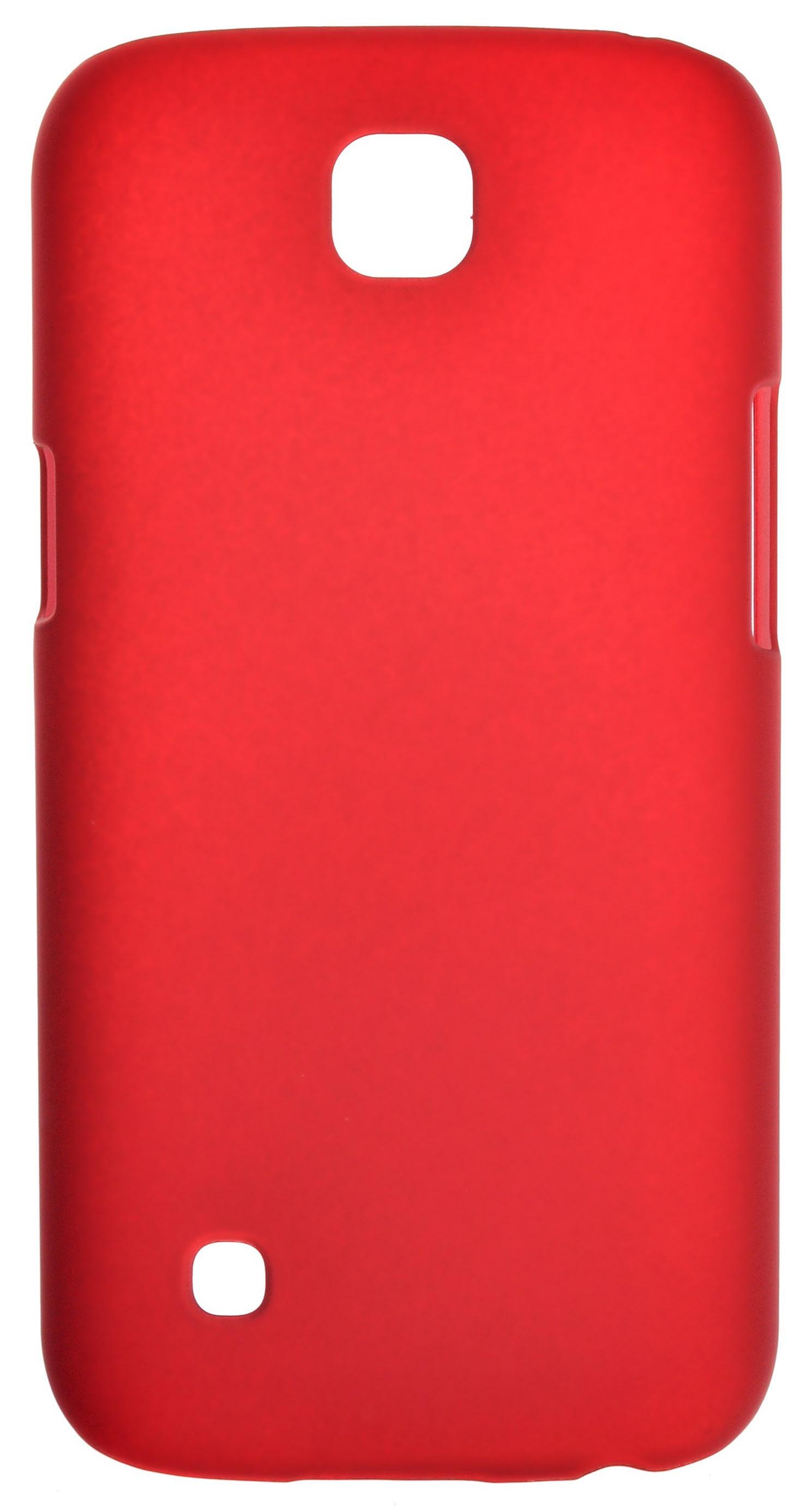 Чехол для сотового телефона skinBOX 4People, 4630042524774, красный стоимость