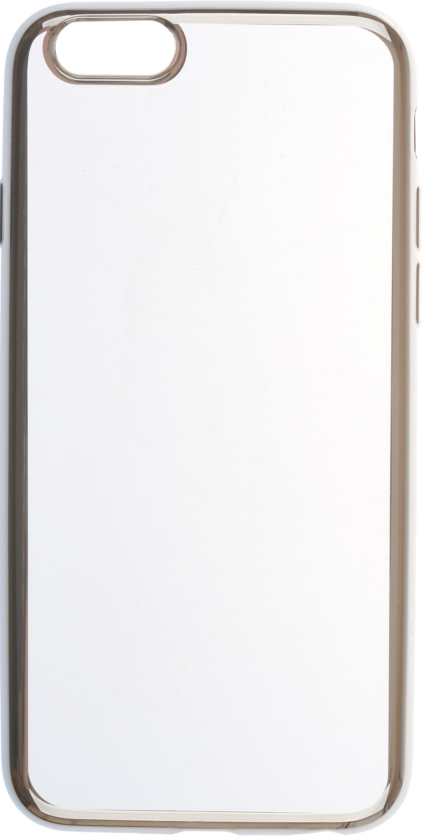 Чехол для сотового телефона skinBOX Silicone chrome border, 4630042524934, серебристый чехол для asus zenfone go zb500kg skinbox 4people silicone chrome border case темно серебристый