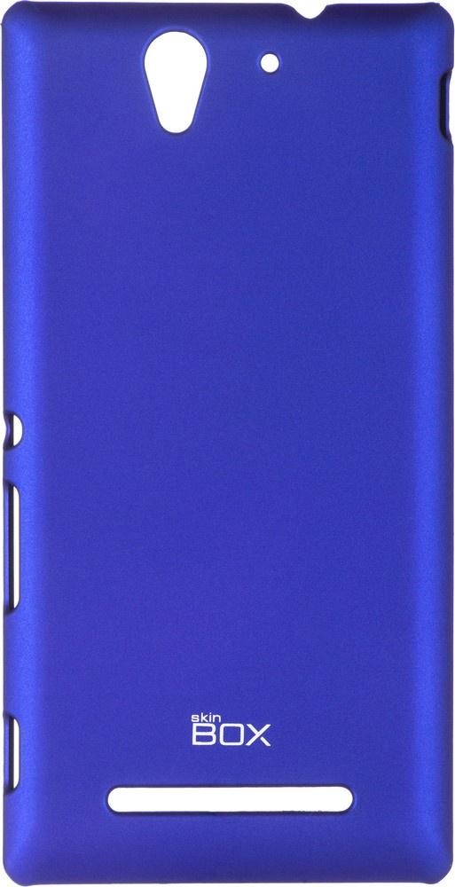 Чехол для сотового телефона skinBOX 4People, 4630042525184, синий чехол для sony e6683 xperia z5 skinbox 4people черный