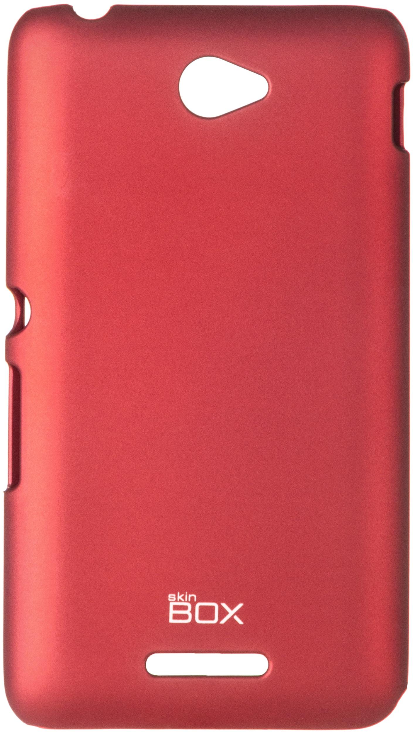 Чехол для сотового телефона skinBOX 4People, 4630042526402, красный цена