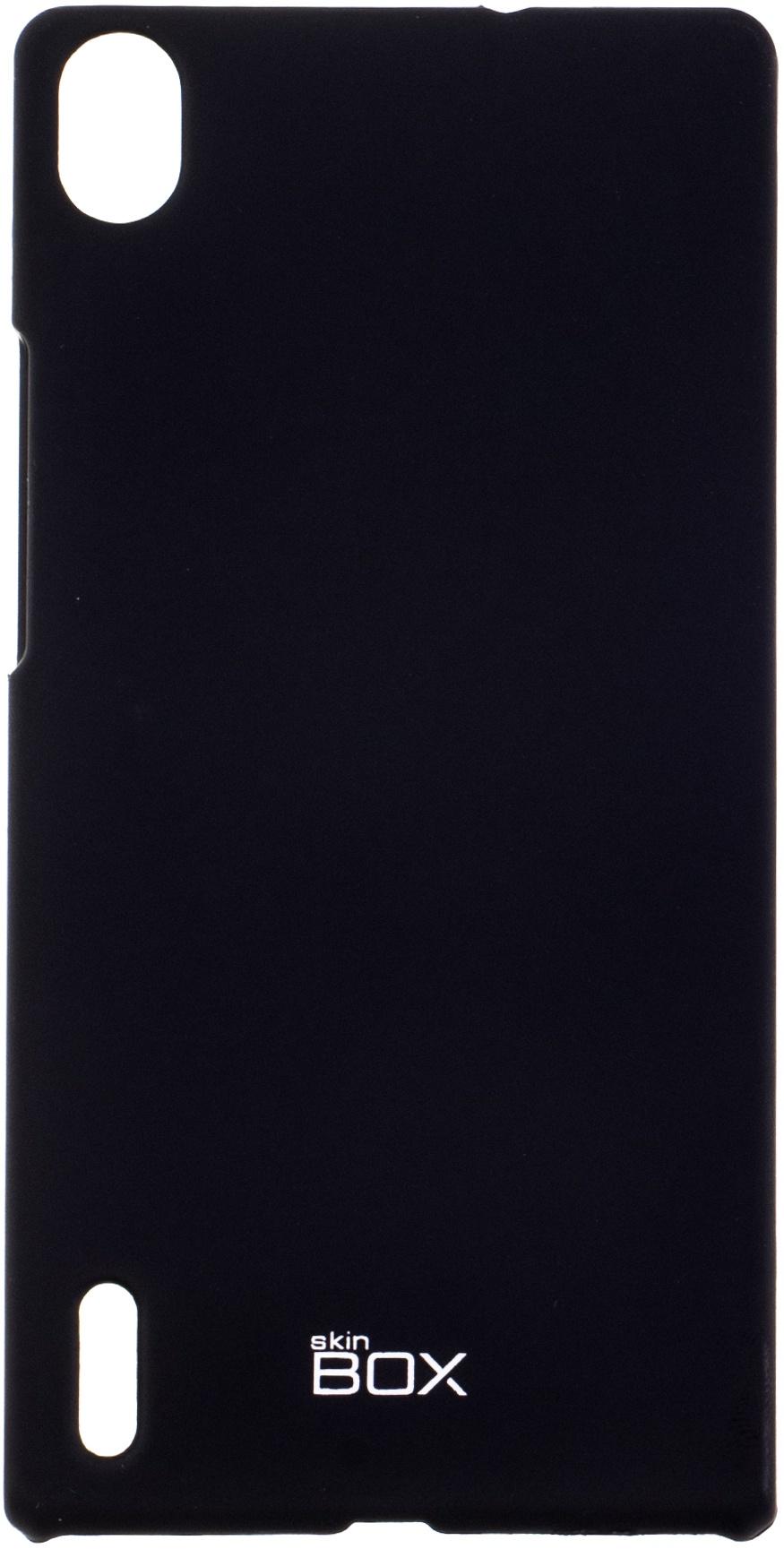 цена на Чехол для сотового телефона skinBOX 4People, 4630042526457, черный