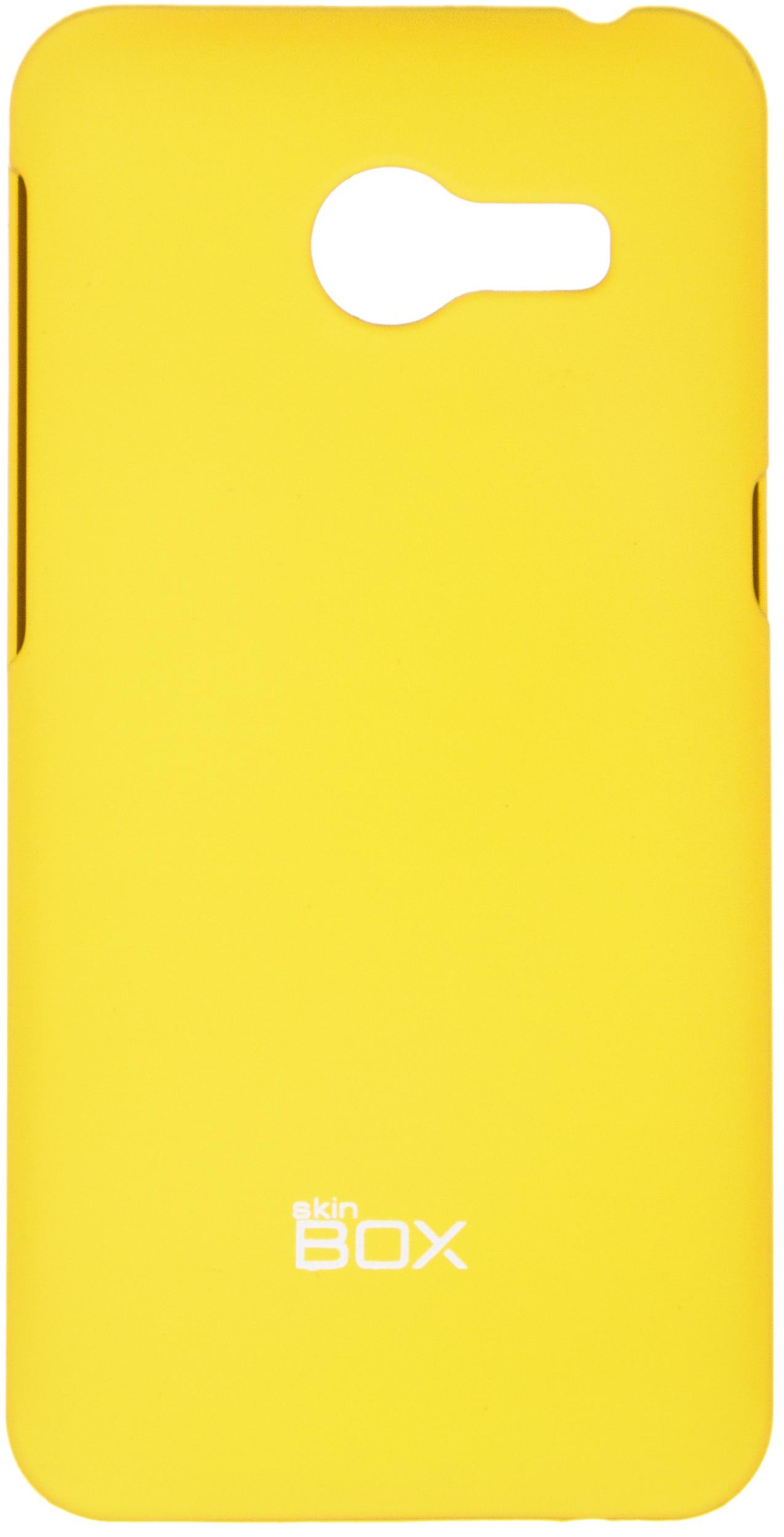 Чехол для сотового телефона skinBOX 4People, 4630042526488, желтый чехол для сотового телефона skinbox 4people 4630042526730 желтый