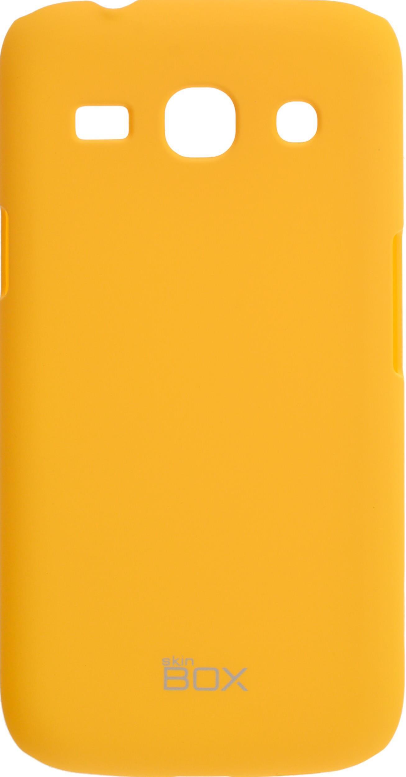Чехол для сотового телефона skinBOX 4People, 4630042526532, желтый чехол для сотового телефона skinbox 4people 4630042526730 желтый
