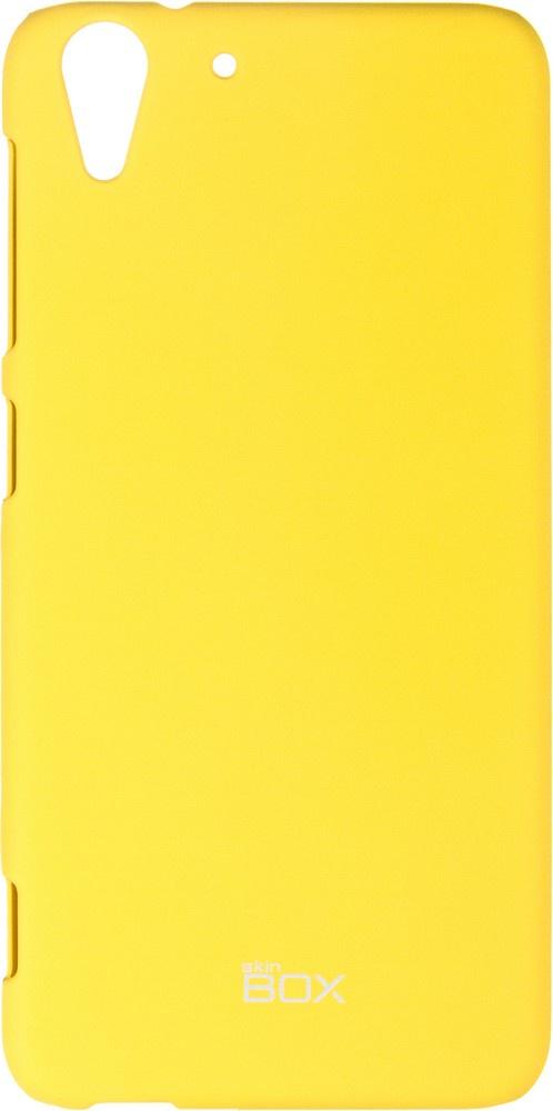 Чехол для сотового телефона skinBOX 4People, 4630042526594, желтый стоимость