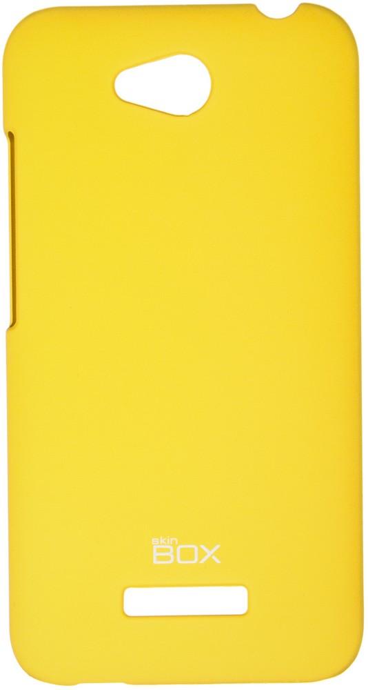 Чехол для сотового телефона skinBOX 4People, 4630042526600, желтый чехол для lenovo vibe c2 k10a40 skinbox 4people case черный