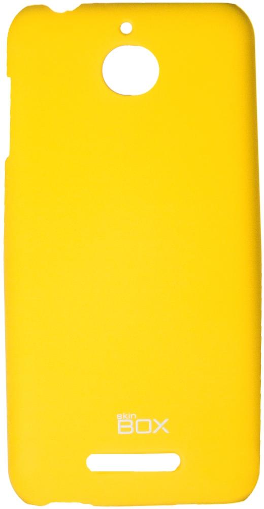 Чехол для сотового телефона skinBOX 4People, 4630042526693, желтый цена