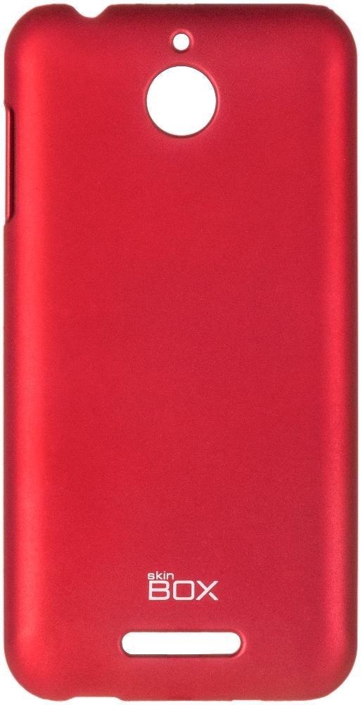 Чехол для сотового телефона skinBOX 4People, 4630042526709, красный цена