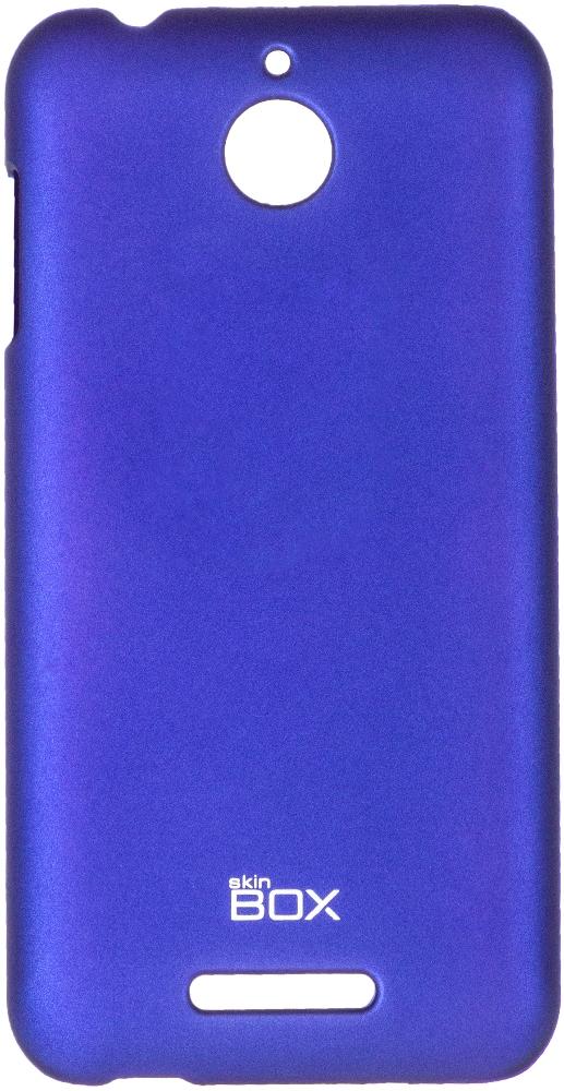 Чехол для сотового телефона skinBOX 4People, 4630042526716, синий стоимость