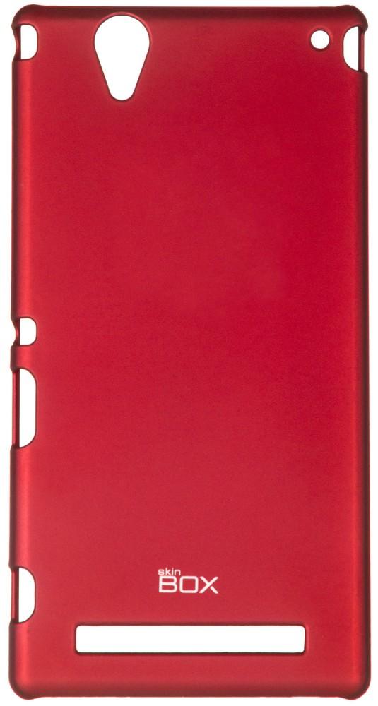 Чехол для сотового телефона skinBOX 4People, 4630042526754, красный стоимость