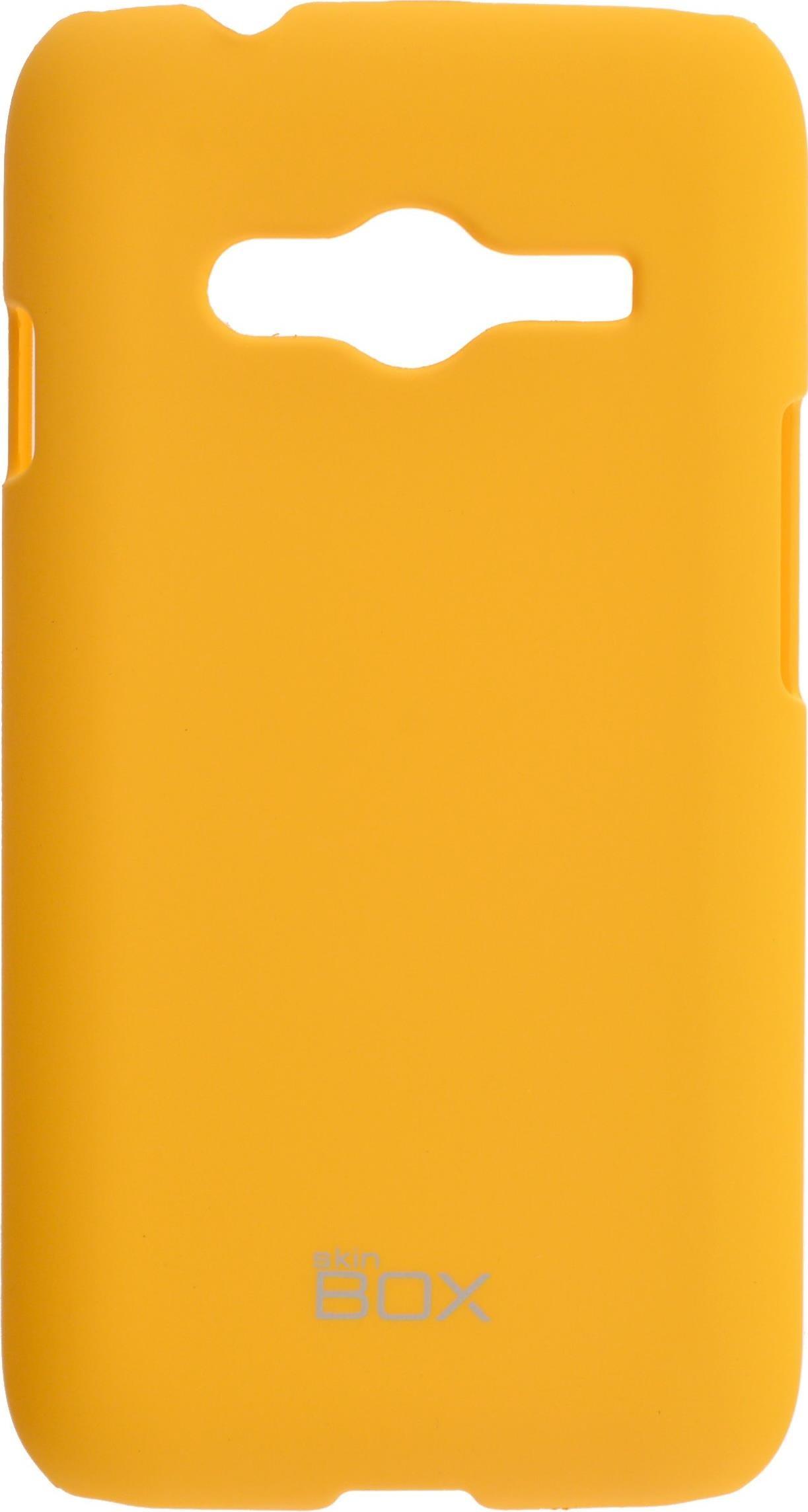 Чехол для сотового телефона skinBOX 4People, 4630042526785, желтый чехол для lenovo vibe c2 k10a40 skinbox 4people case черный