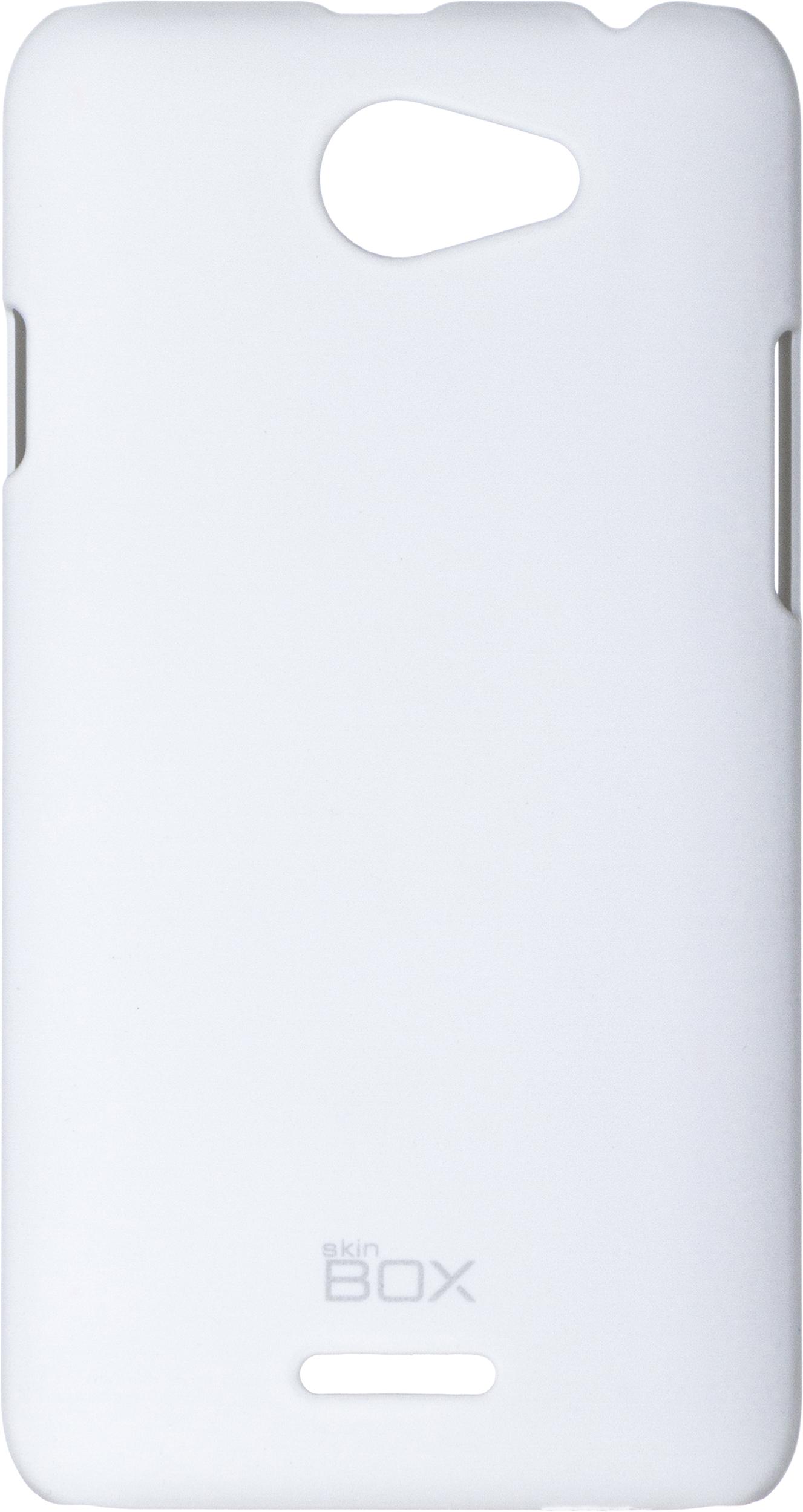 Чехол для сотового телефона skinBOX 4People, 4630042526808, белый все цены