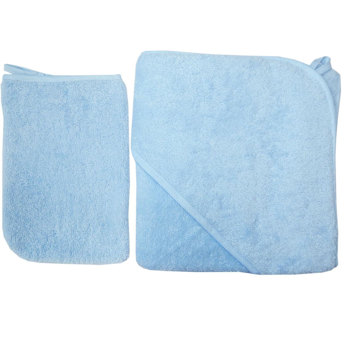 круги для купания Комплект для купания Набор для купания 2 предмета 75х80 Голубой 3015, голубой