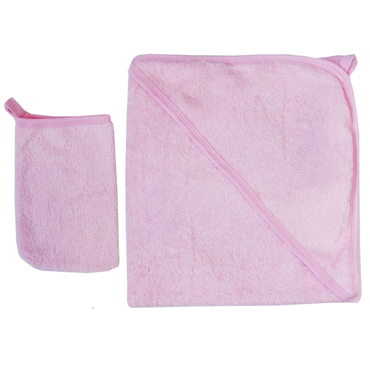 Комплект для купания Набор для купания 2 предмета 75х80 3015, розовый недорго, оригинальная цена