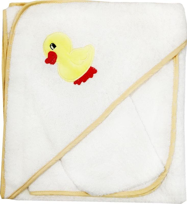 Комплект для купания Набор для купания 3 предмета с вышивкой 3111, белый